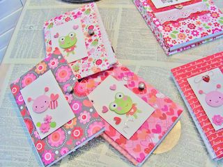Doodlebug notebooks lovebug