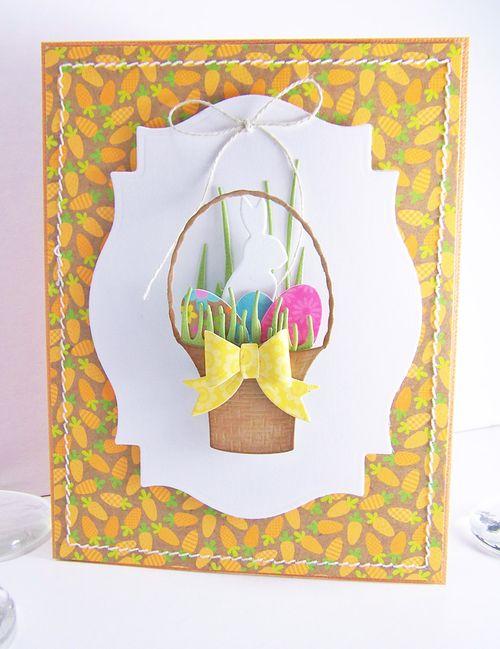 Easter basket large front
