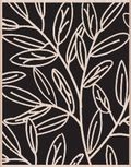 Reverse leaf pattern
