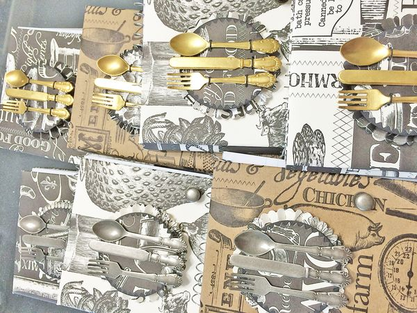 Tim holtz silverware set 1
