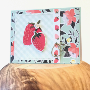 1canoe2 hazelwood card - strawberries 1