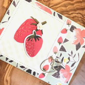 1canoe2 hazelwood card - strawberries 2