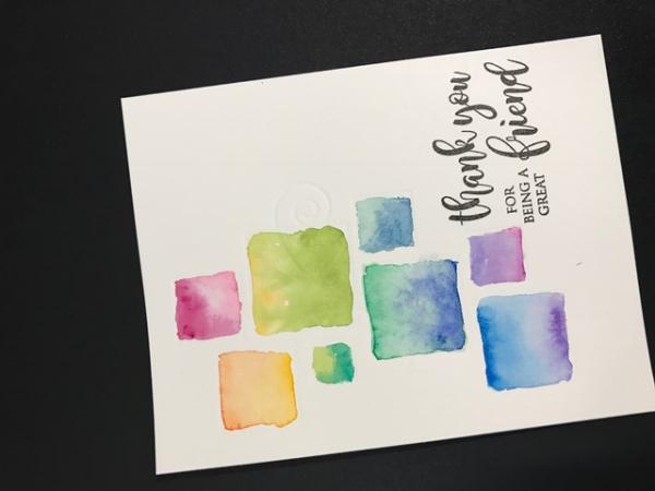Starlitstudio watercolor squares poppystamps wandering vine squares